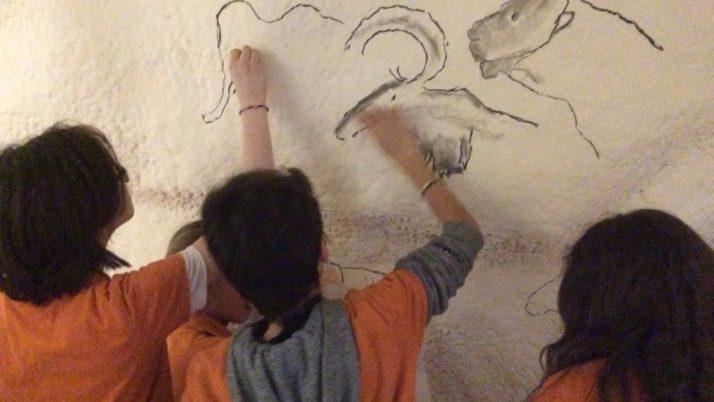 Sortie 6a et 6b à la grotte Chauvet