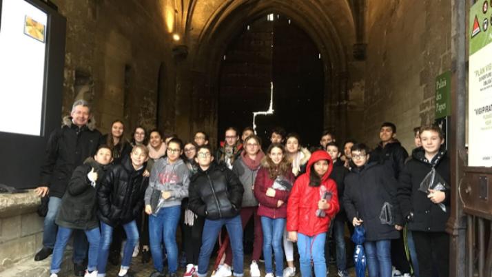 Les 5°A au musée du Petit Palais en Avignon