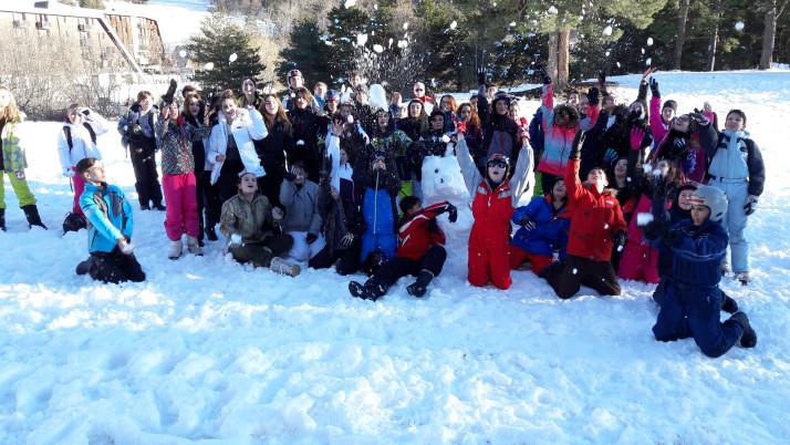 Classe de neige 5A et 5D