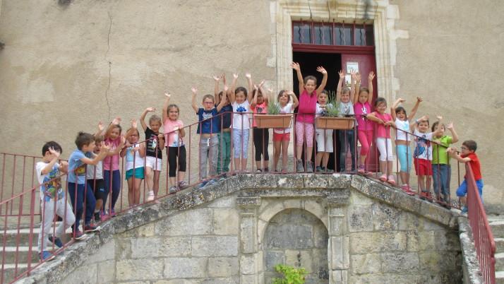 Classe Découverte Grande Section au Château de Buoux